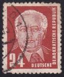 Sellos de Europa - Alemania -  Wilhelm Pieck
