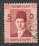 Sellos de Africa - Egipto -  210 - Faruq de Egipto