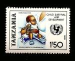 Sellos de Africa - Tanzania -  INTERCAMBIO