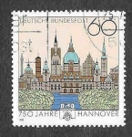 Sellos de Europa - Alemania -  1621 - 700 Aniversario de la Ciudad de Hannover