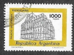 Sellos de America - Argentina -  1176 - Palacio de Correos de Buenos Aires