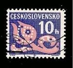 Sellos de Europa - Checoslovaquia -  INTERCAMBIO