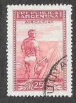 Sellos de America - Argentina -  441 - Agricultura