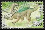 Sellos del Mundo : Asia : Tayikistán : Animales prehistóricos - Spinosaurus