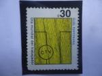 Sellos de America - Venezuela -  C.T.V. (Confederación de Trabajadores de Venezuela- (1947) - Día Mundial de los Trabajadores.