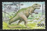 Sellos del Mundo : Asia : Tayikistán : Animales prehistóricos - Tyrannosaurus