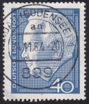 Sellos de Europa - Alemania -  Heinrich Lübke