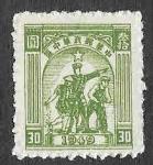 Sellos de Asia - China -  6L40 - Granjero, Soldado y Trabajador