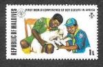 Sellos de Asia - Maldivas -  427 - XXIV Conferencia Mundial de los Boys Scouts