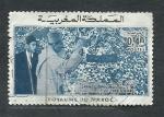 Sellos de Africa - Marruecos -  Mohamed  V  y  Haqssan  II