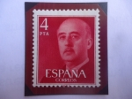 Sellos de Europa - España -  Francisco Franco - Serie: General Francisco Franco (V) 1955-1975.