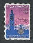 Sellos del Mundo : Africa : Marruecos :  Mesquita Kotubia de Marrakech