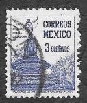 Sellos de America - México -  805 - Fuente de Diana. La Cazadora