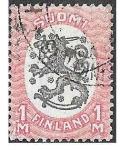 Sellos de Europa - Finlandia -  101 - Escudo de Armas