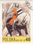 Sellos de Europa - Polonia -  caballero medieval