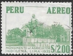 Sellos del Mundo : America : Perú : monumento agricultor