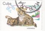 Sellos del Mundo : America : Cuba : Leopardo