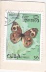 Sellos del Mundo : America : Cuba : Mariposa cubana