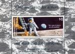 Sellos del Mundo : Oceania : Islas_Marshall : 20 Aniversario del alunizaje del modulo lunar del Apolo 11