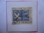 Sellos de Europa - Francia -  Paloma de la Paz del Pintor, Jean Gabriel  Daragnés (1886-1950)- Temas Alegóricos