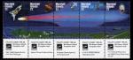 Sellos del Mundo : Oceania : Islas_Marshall : Cometa Halley 1985-1986