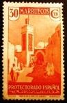 Sellos del Mundo : Europa : España : MARRUECOS ESPAÑOL. 1935-1937 Vistas y Paisajes