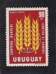 Sellos de America - Uruguay -  Campaña Mundial Contra el Hambre