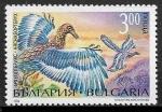 Sellos del Mundo : Europa : Bulgaria : Animales prehistoricos - Archaeopteryx