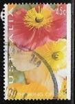 Sellos de Oceania - Australia -  Thinking of you Poppies