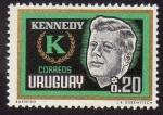 Sellos del Mundo : America : Uruguay : Muerte de John F. Kennedy