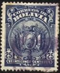 Sellos del Mundo : America : Bolivia : Escudo de Bolivia.