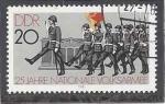 Sellos del Mundo : Europa : Alemania : 1981 - 25 Years National People's Army,Wachaufzug