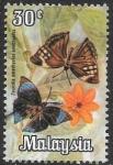 Sellos del Mundo : Asia : Malasia :  mariposas