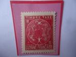 Sellos de Europa - Francia -  Guayana Francesa - Timbre Taxe - Serie: Postage Due-Stamps 1947