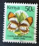 Sellos de Africa - Kenya -  Mariposas