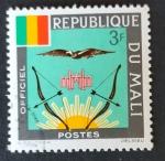 Sellos de Africa - Mali -  Simbolicos