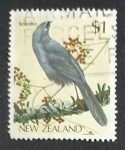 Sellos de Oceania - Nueva Zelanda -  Pajaros