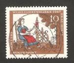 Sellos del Mundo : Europa : Alemania :  403 - El hada holle, cuento de Los Hermanos Grimm