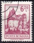 Sellos de Europa - Rumania -  castillo Bran