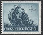Sellos del Mundo : Europa : Alemania : 792 - Día de los héroes