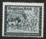 Sellos del Mundo : Europa : Alemania : 806 - Antigua Diligencia Postal