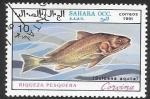 Sellos del Mundo : Africa : Marruecos :  peces