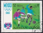 Sellos del Mundo : Asia : Emiratos_Árabes_Unidos :  JJ.OO. México 68