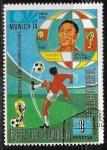 Sellos del Mundo : Africa : Guinea : Munich 74 - Eusebio