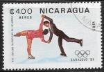 Sellos del Mundo : America : Nicaragua : Juegos Olimpicos 1984 - Sarajevo