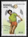 Sellos del Mundo : America : Nicaragua : Copa del mundo 1982 España