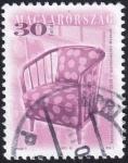 Sellos de Europa - Hungría -  sillón de Karoly Nagy