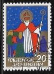 Sellos del Mundo : Europa : Liechtenstein : San Nicolas