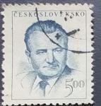 Sellos de Europa - Checoslovaquia -  Personajes