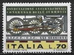 Sellos del Mundo : Europa : Italia : Congreso Internacional de Ferrocarriles